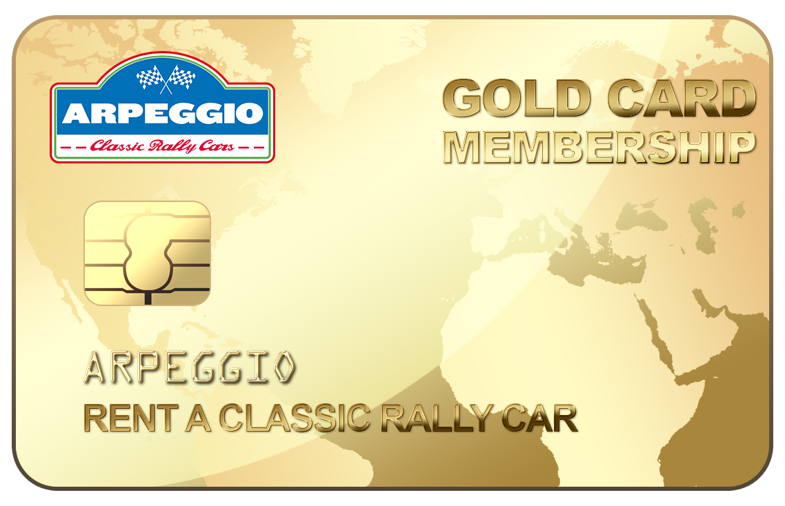 Rent a Classic Rally Car – Arpeggio